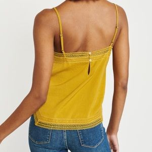 Abercrombie & Fitch Tops - Abercrombie | Square Neck Lace Cami